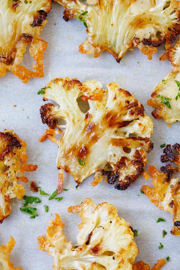 09 - Rasa Malaysia - Parmesan Roasted Cauliflower