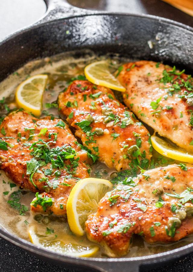 14 - Jo Cooks - Lemon Chicken Piccata