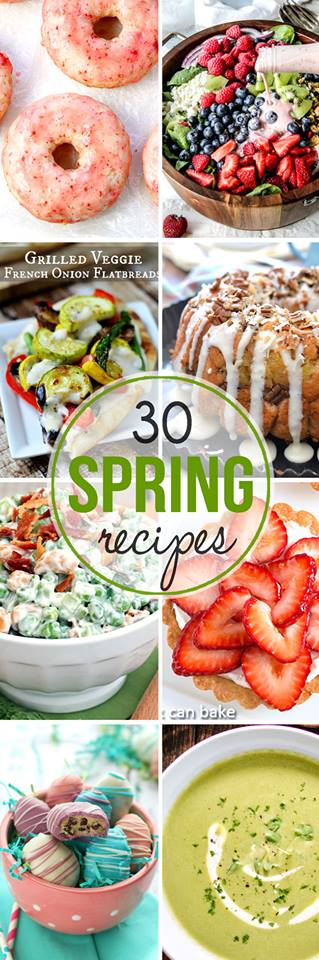 Grab the best produce that spring has to offer and make these delicious spring recipes.