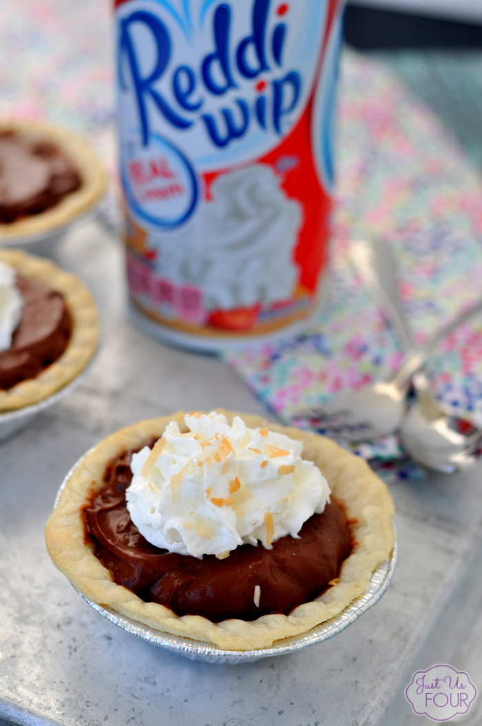 Easy Coconut Chocolate Pie