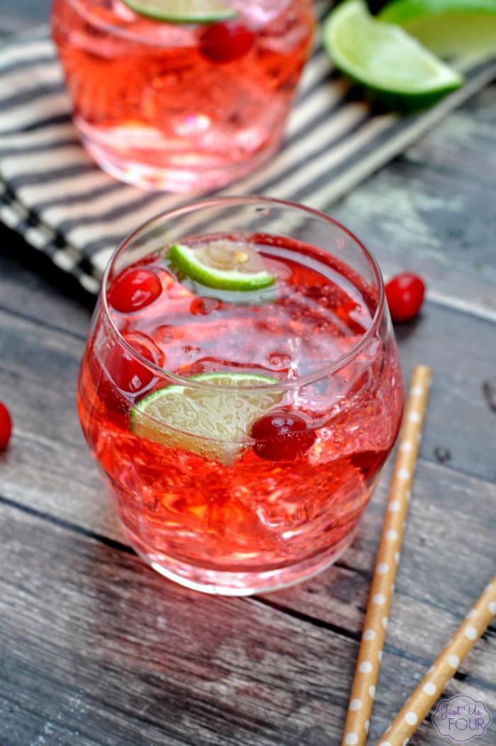 Cranberry Vodka Tonic