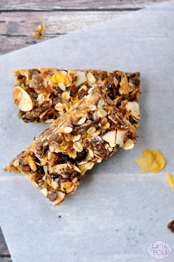 Gluten Free No Bake Granola Bars