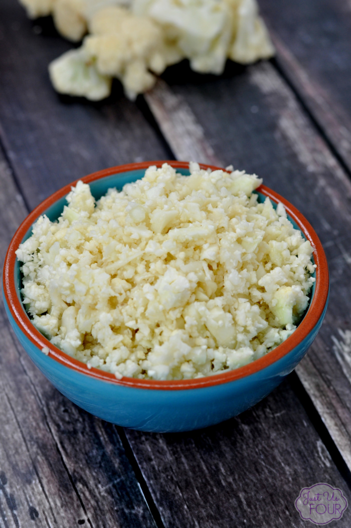 Use this easy tutorial to perfectly freeze cauliflower rice