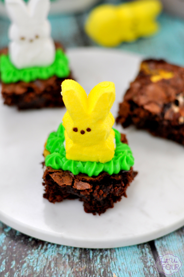 Peep Brownies Recipe