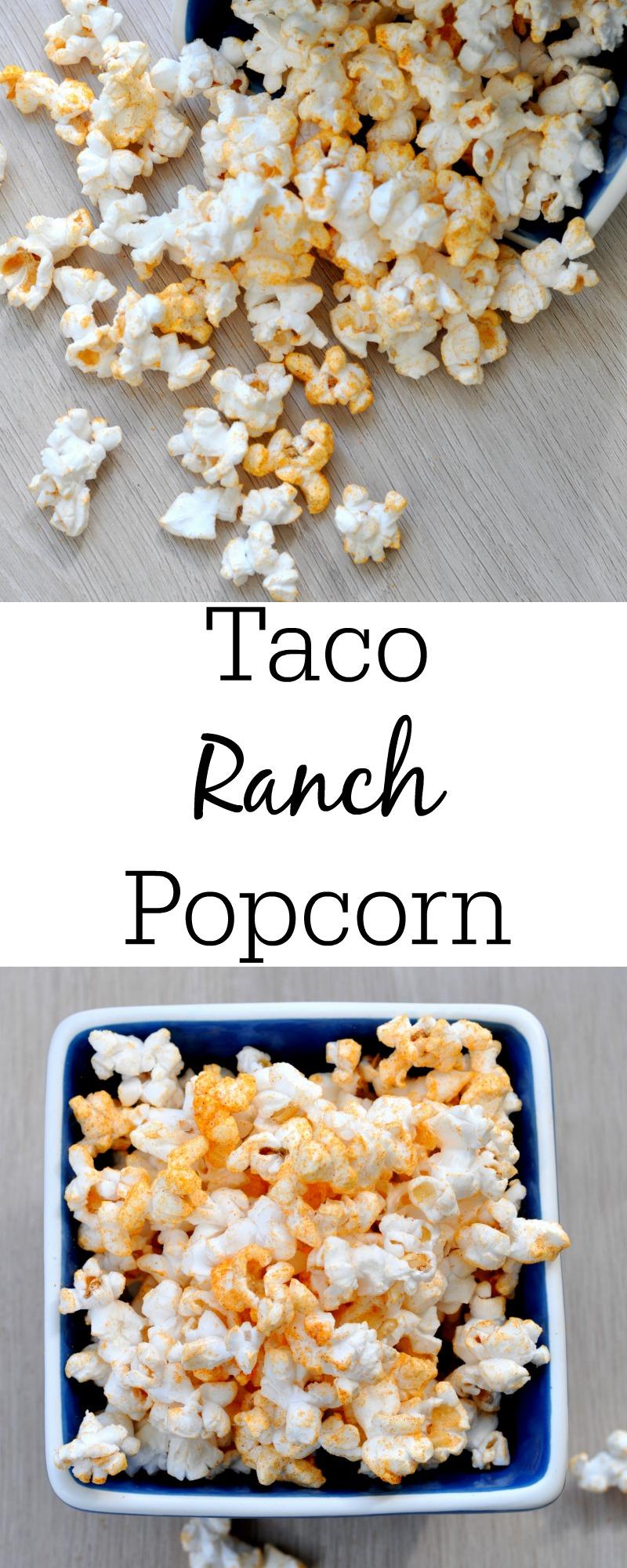 Taco Ranch Popcorn