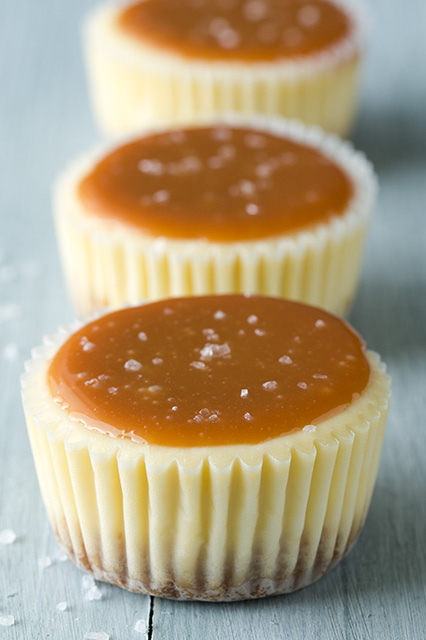 02 - Cooking Classy - Salted Caramel Cheesecakes