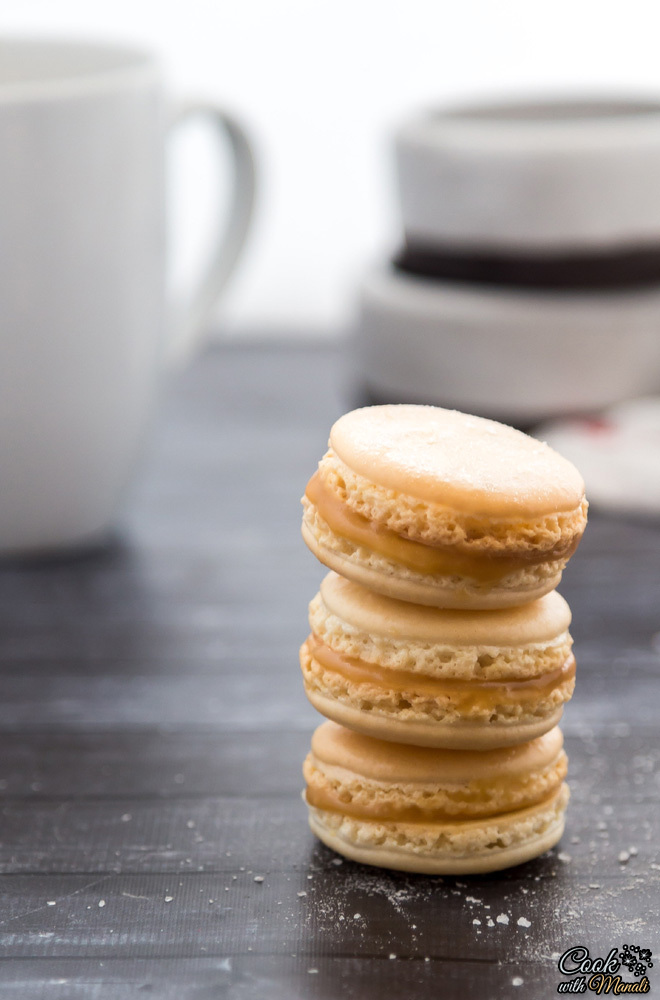 09 - Cook with Manali - Salted Caramel Macarons