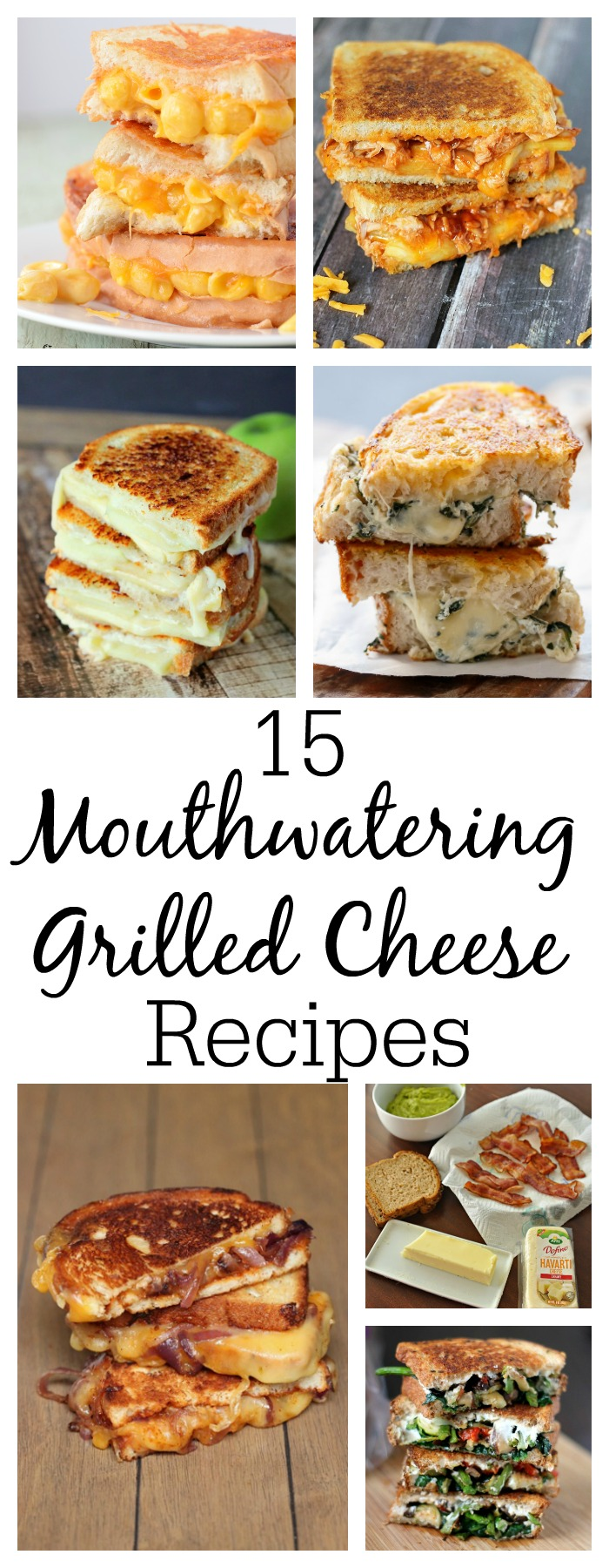 15 Mouthwatering Grilled Cheese Recipes
