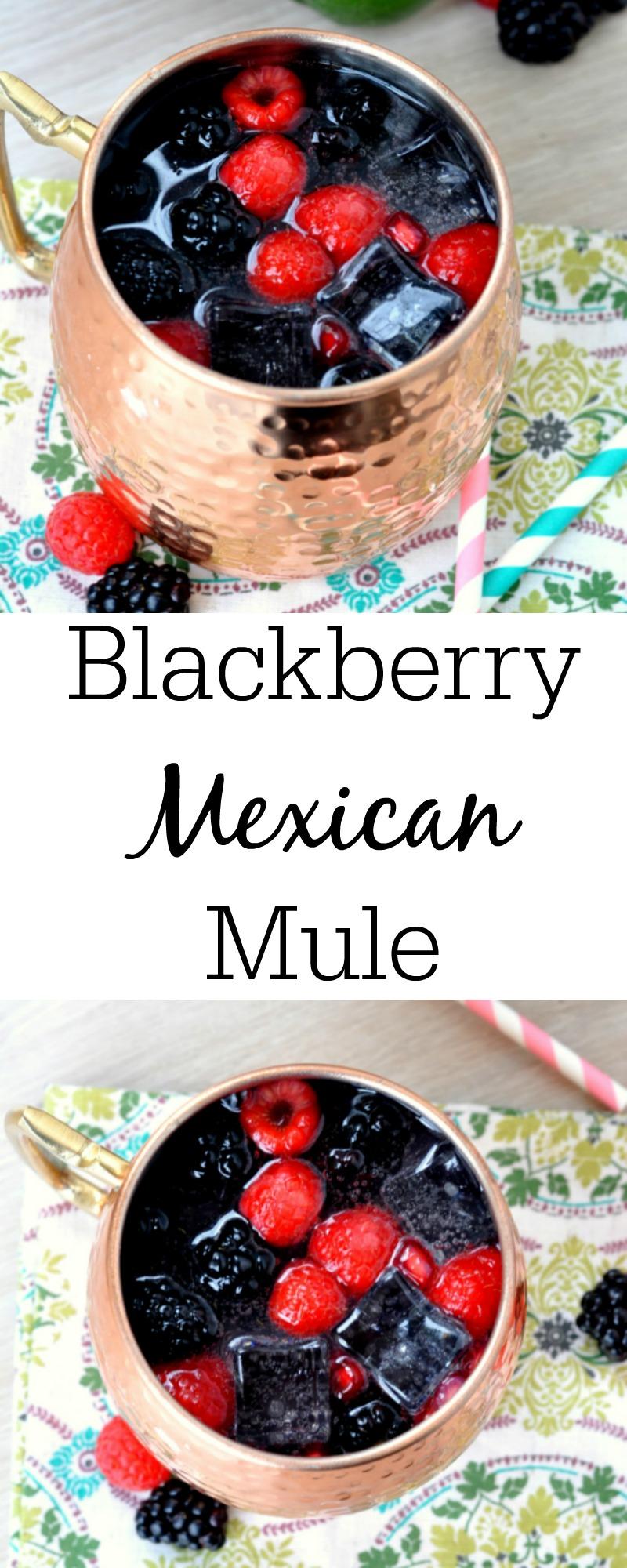 Blackberry Mexican Mule