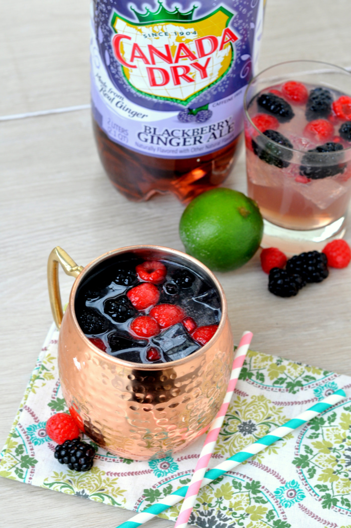Blackberry Moscow Mule Recipe