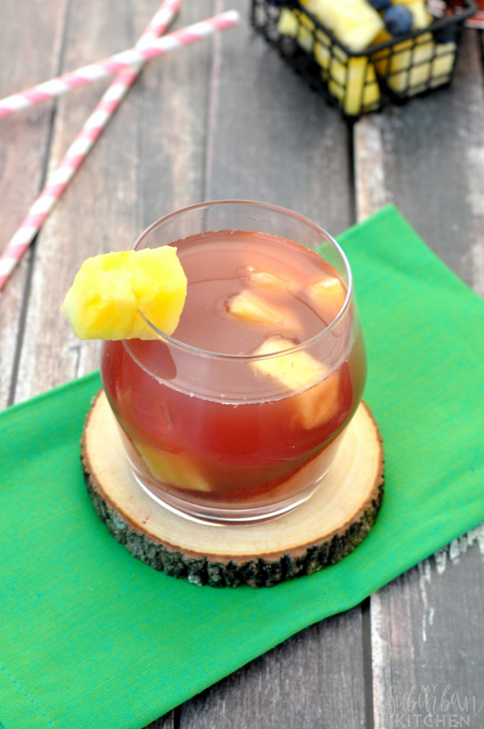 Blueberry Pineapple Iced Tea