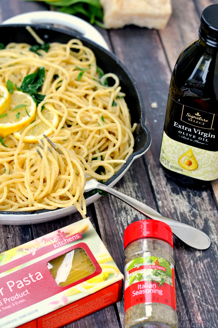 Simple Lemon Garlic Pasta
