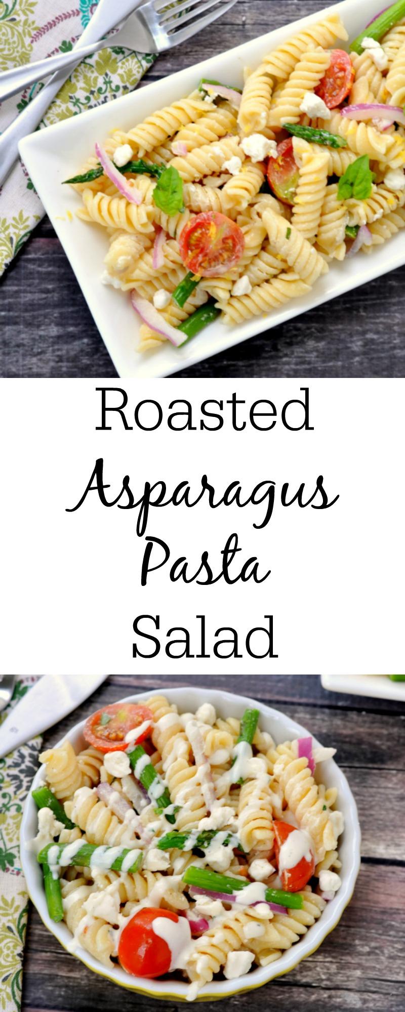 Roasted Asparagus Pasta Salad