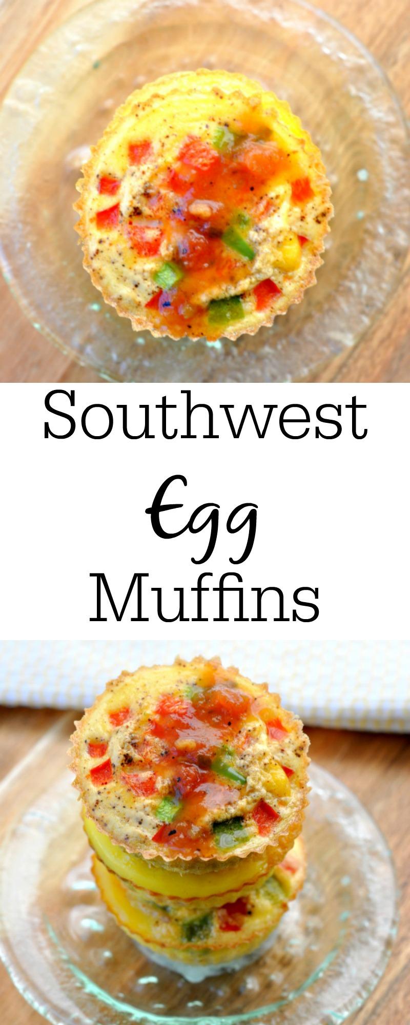 Southwestern Egg Muffins