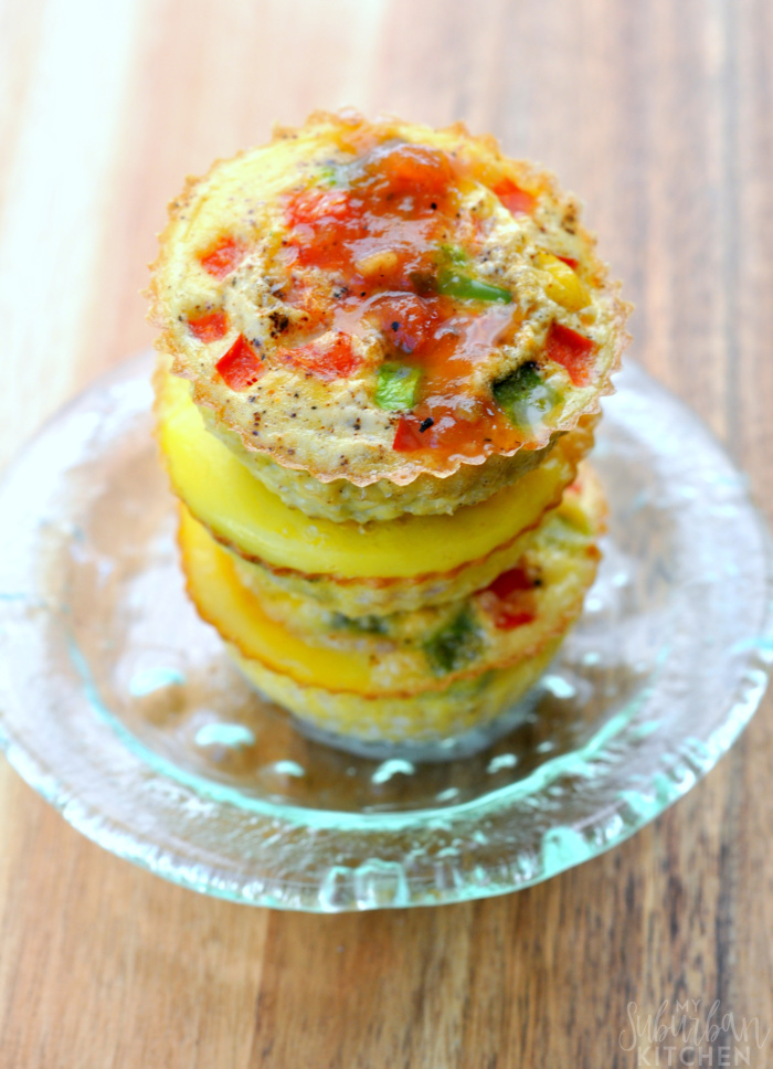 Southwestern Egg Muffins Cups
