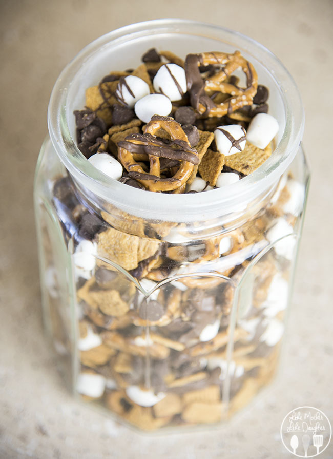 Like Mother Like Daughter - S'mores Snack Mix