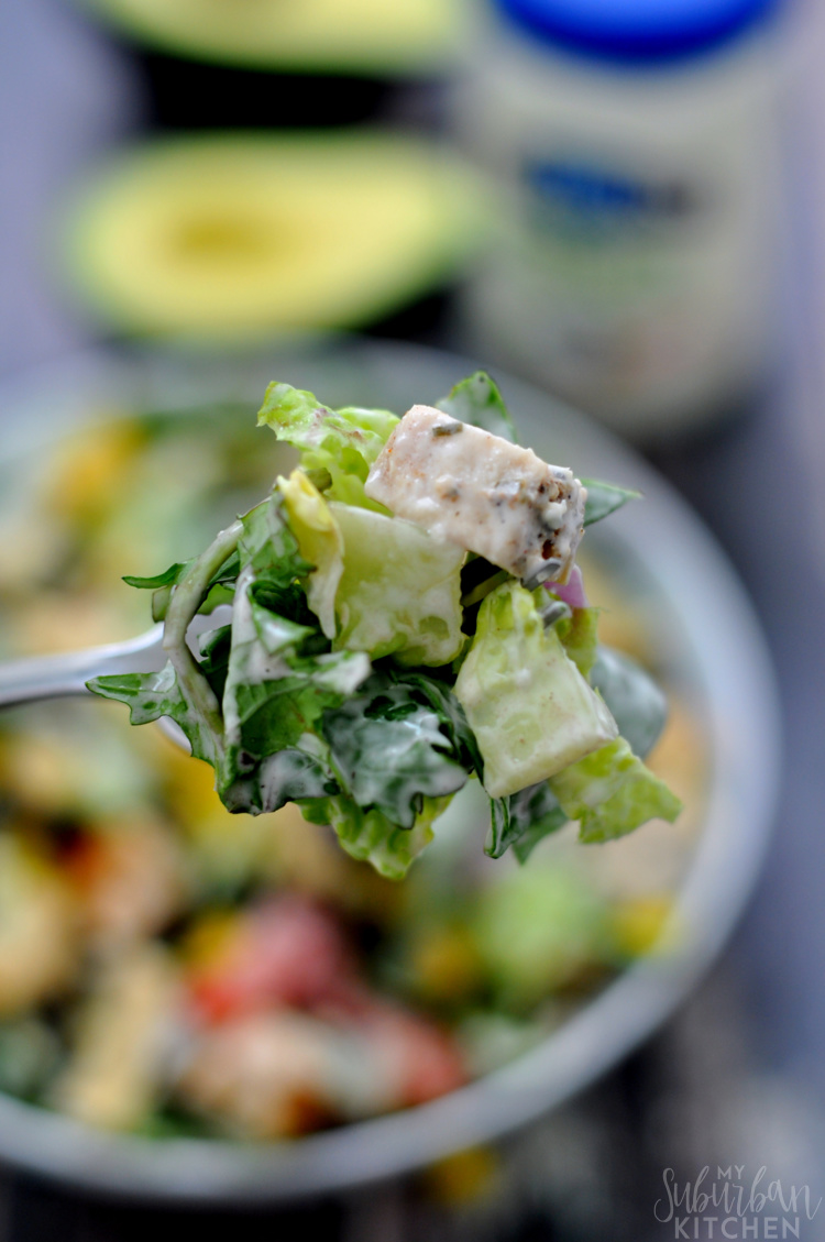 Chicken Fajita Chopped Salad