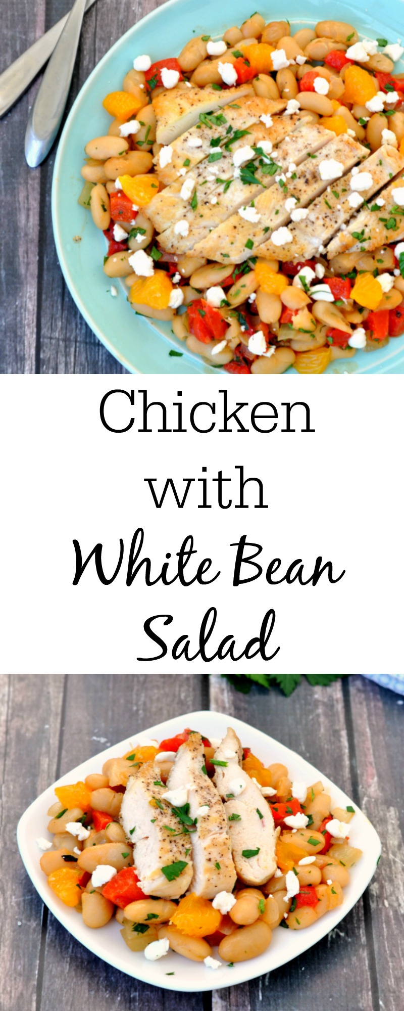 Chicken with White Bean Saute