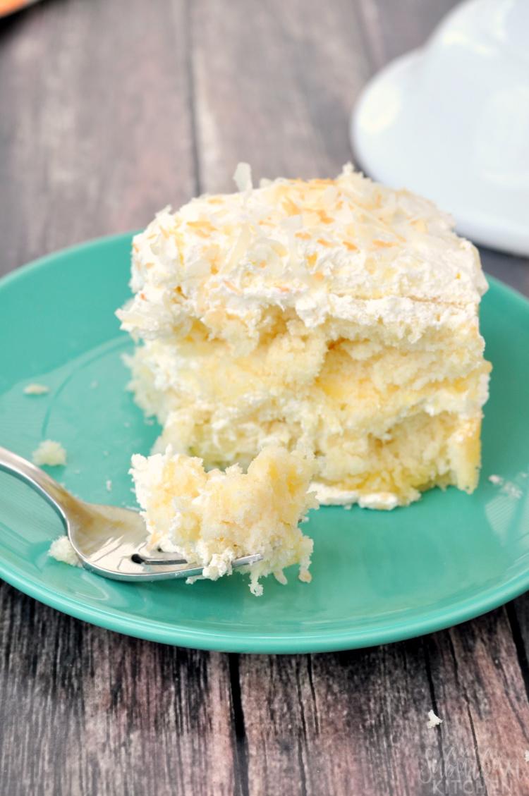Grandma's Coconut Pineapple Cake