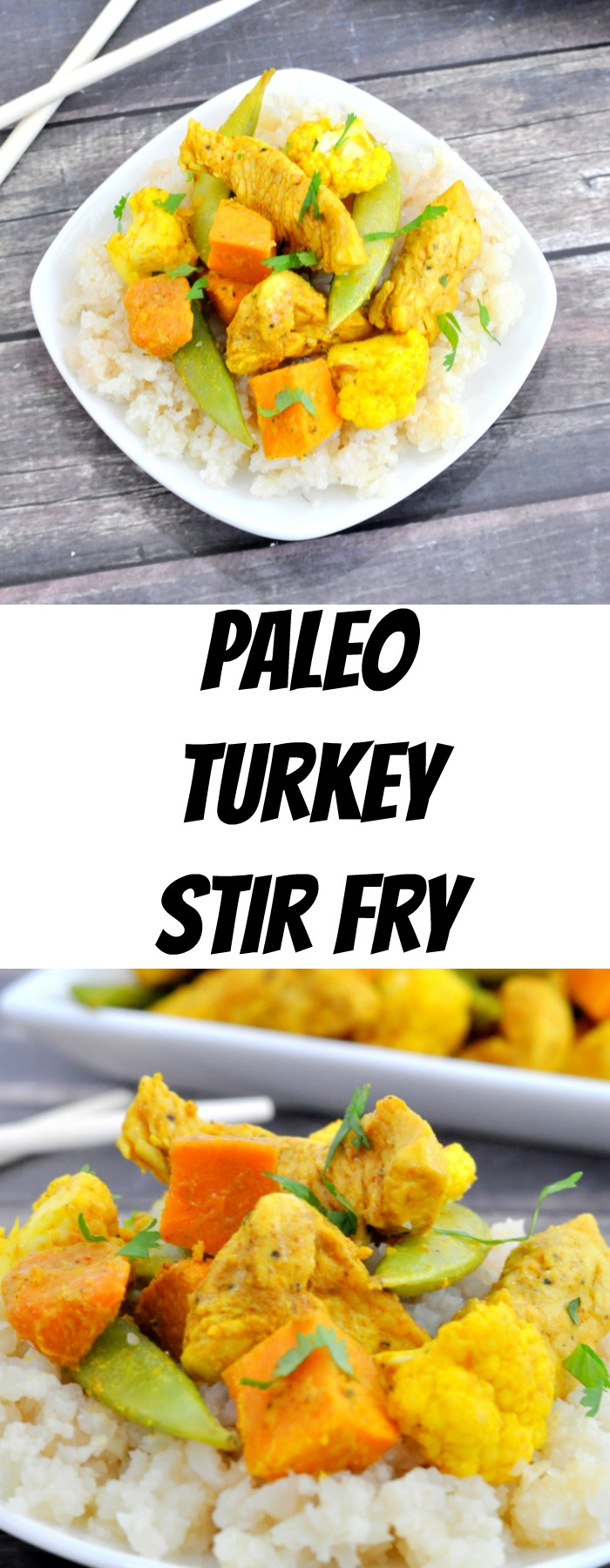 Paleo Turkey Stir Fry