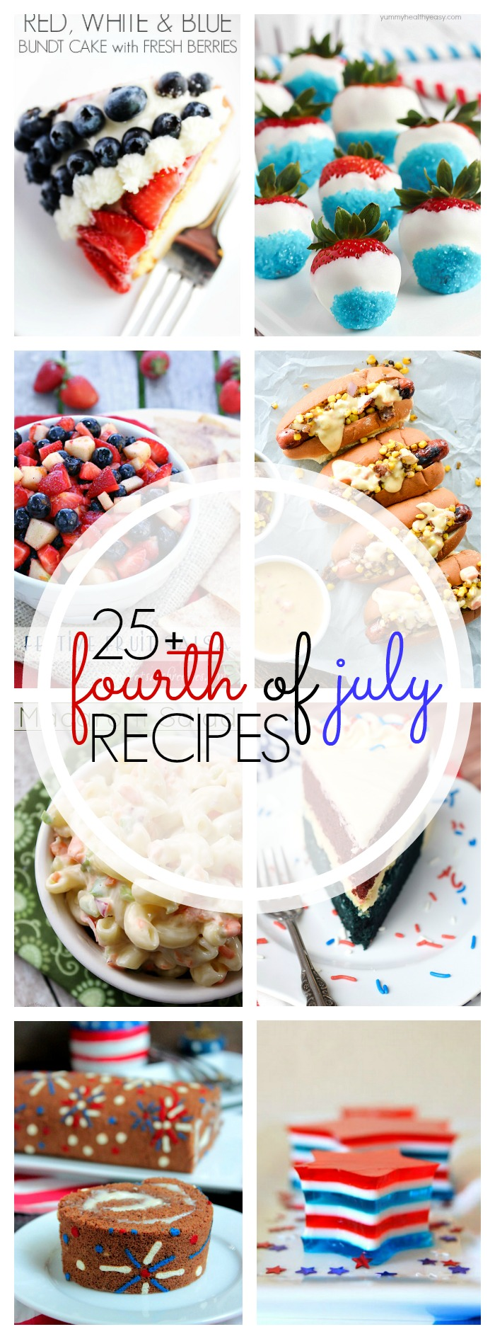 25+ Amazing Recipes for the 4th of July