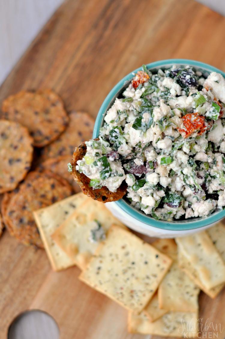 Mediterranean Feta Salsa - My Suburban Kitchen