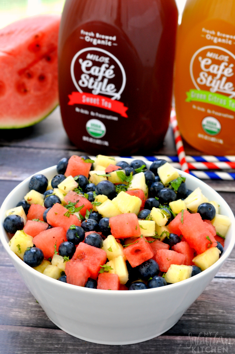 Mixed Fruit Summer Salad