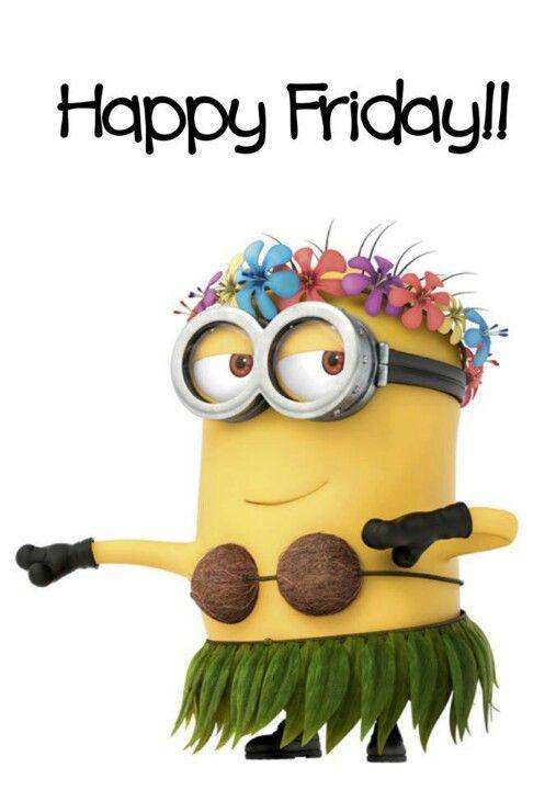 Happy Friday Minion