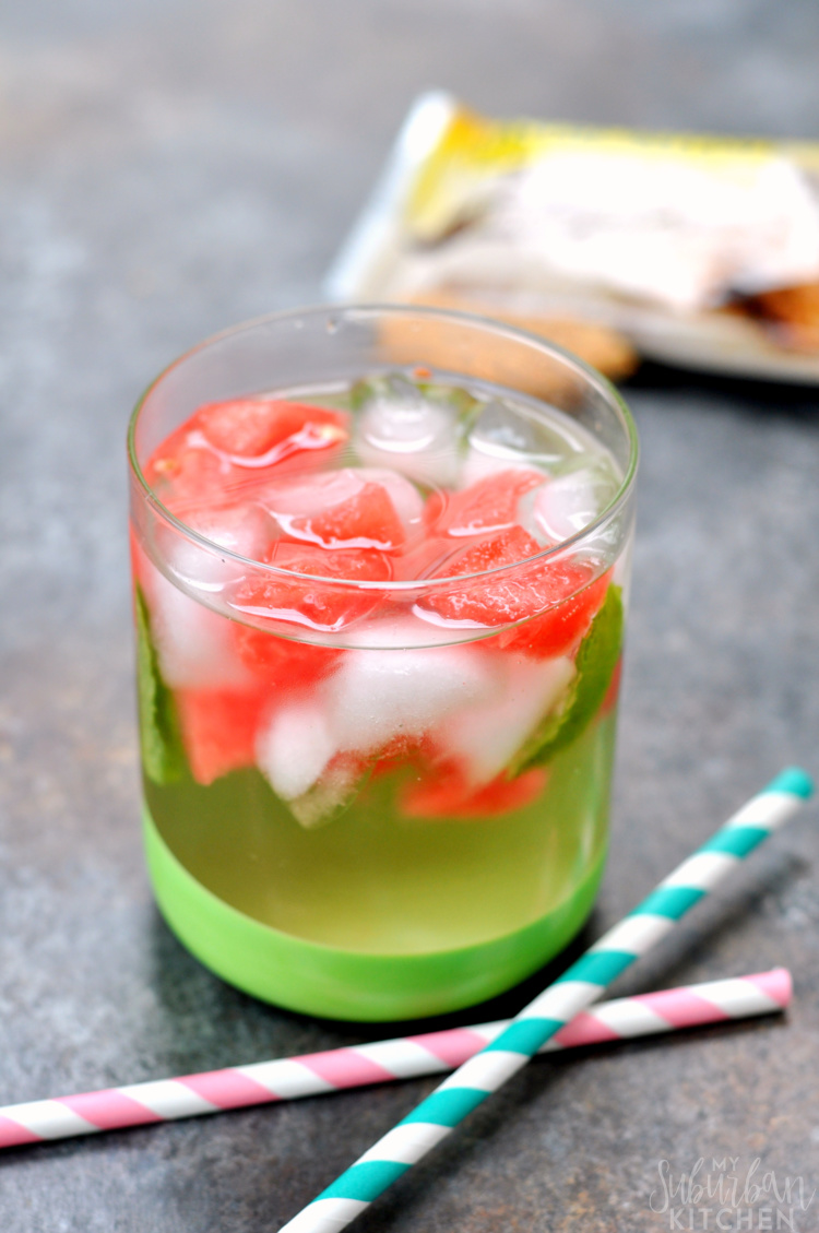 Watermelon Mint Infused Water