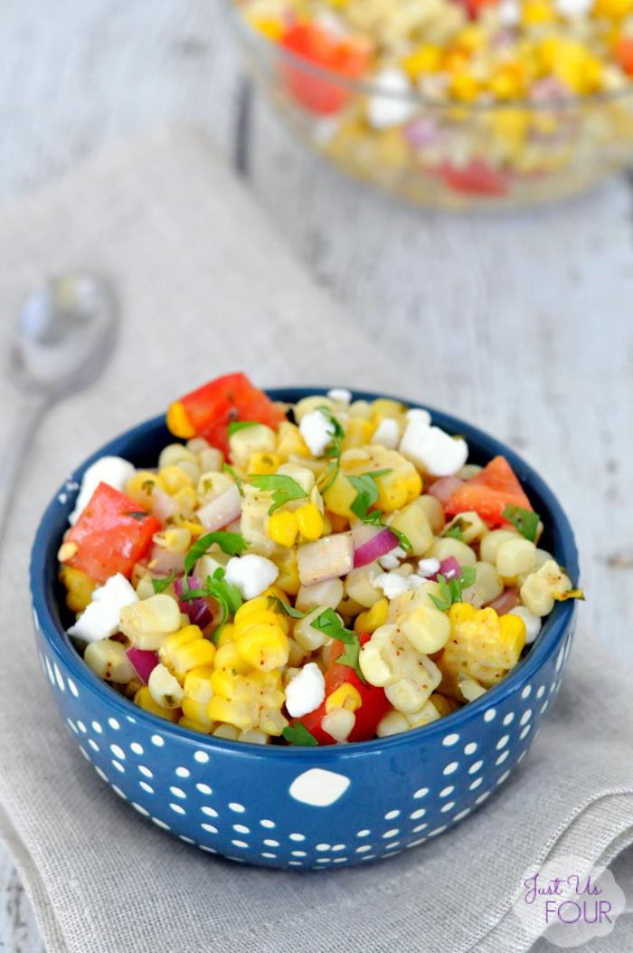 01 - My Suburban Kitchen - Summer Grilled Corn Salad