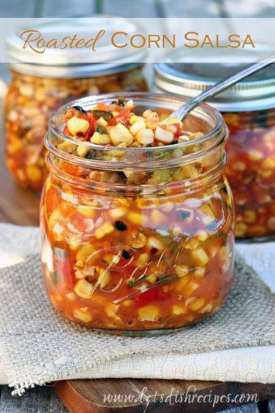 02 - Let's Dish Recipes - Roasted Corn Salsa