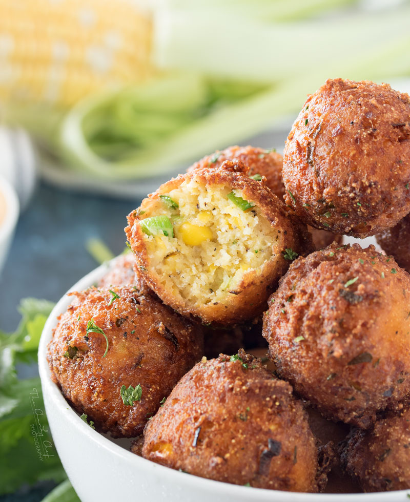 11 - The Chunky Chef - Sweet Corn Fritters