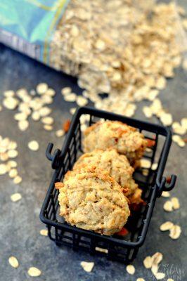 Bacon Oatmeal Breakfast Cookies