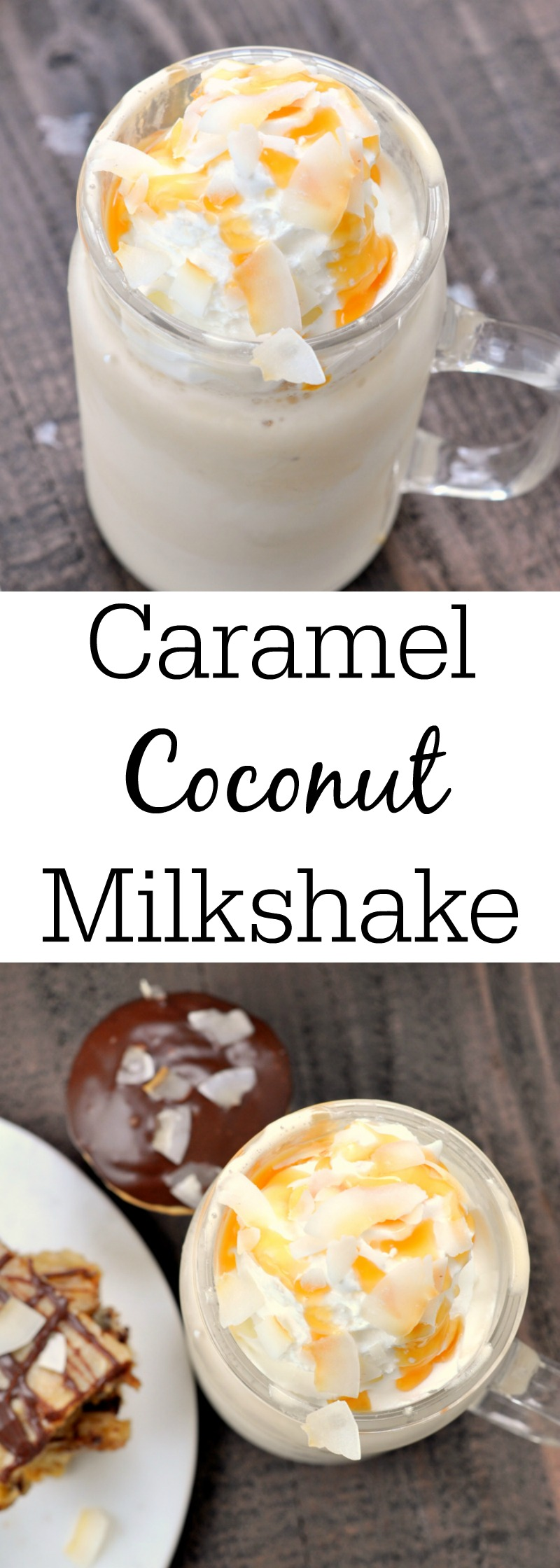 Caramel Coconut Milkshake - My Suburban Kitchen