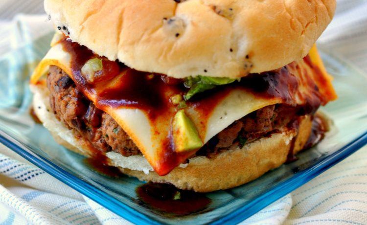 Chipotle Burgers with Avocado