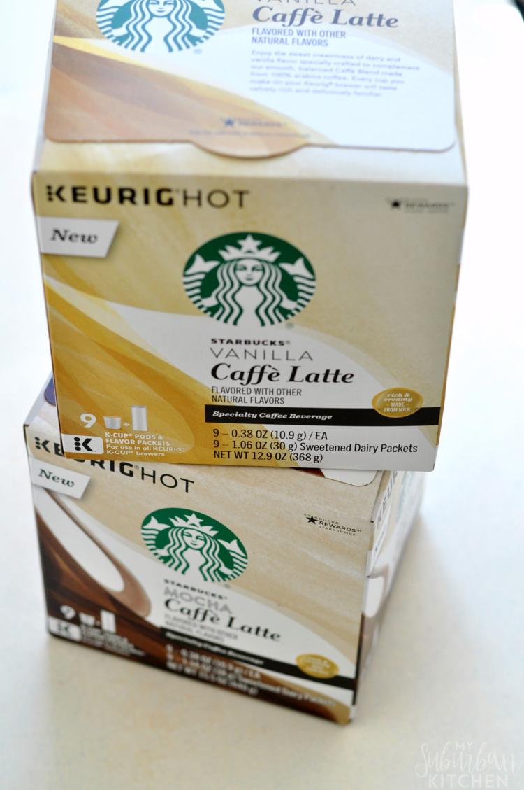 Starbucks Vanilla Caffe Latte