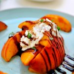 Grilled Peaches with Ricotta