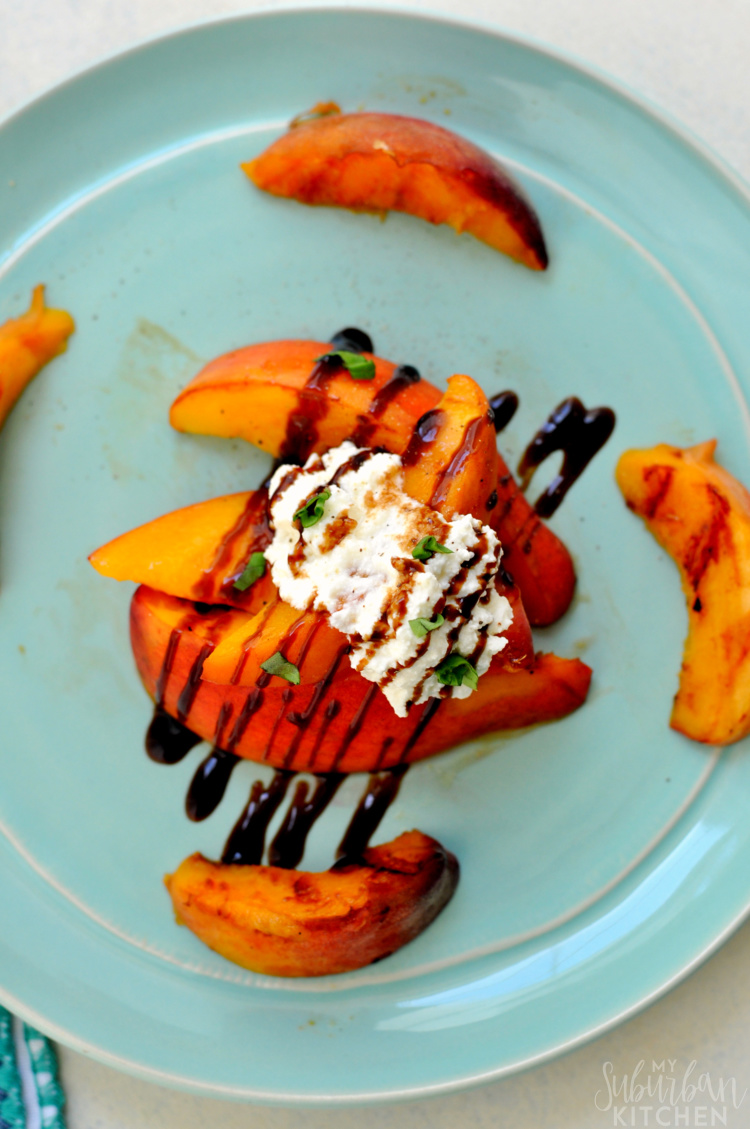 Grilled Peaches with Ricotta Recipe