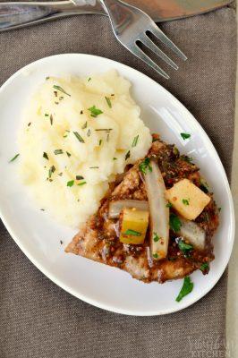 Rosemary Balsamic Pork Chops