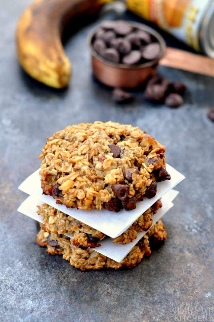 Pumpkin Chocolate Oatmeal Cookies