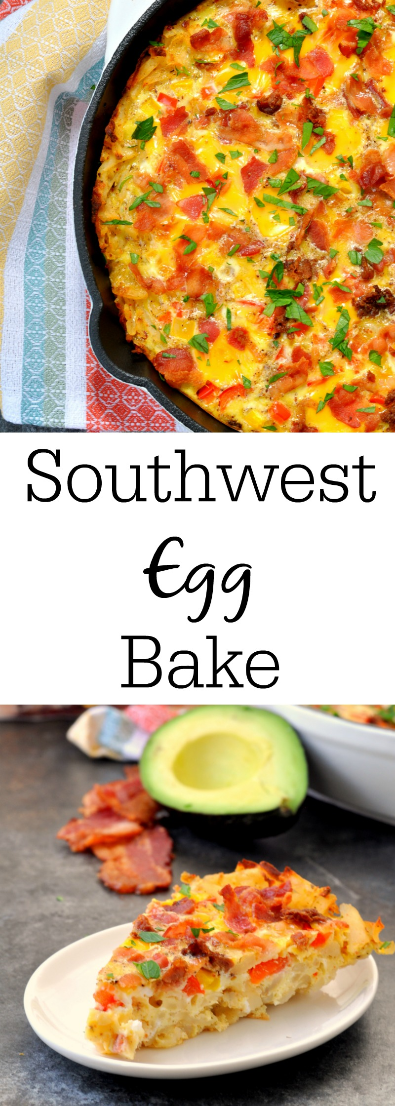 Southwestern Egg Bake