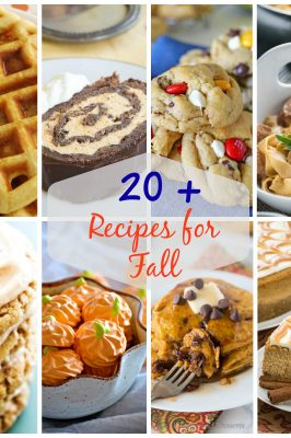 20+ Perfect Fall Recipes