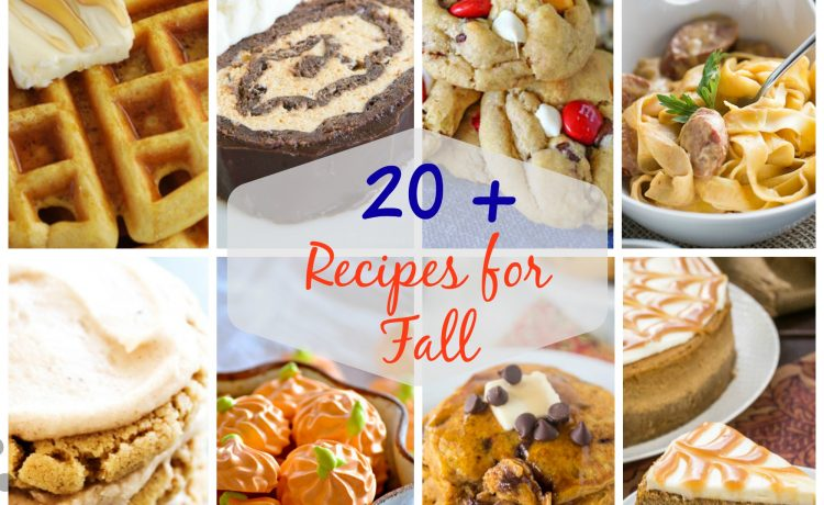 Over 20 Perfect Fall Recipes to Try Now