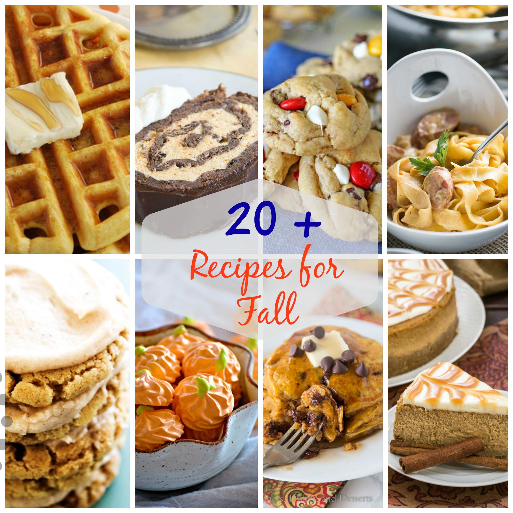 20+ Perfect Fall Recipes