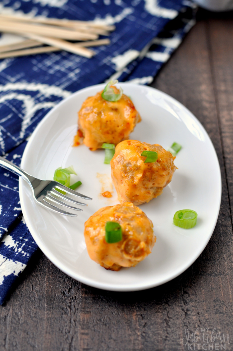 Bang Bang Chicken Meatballs
