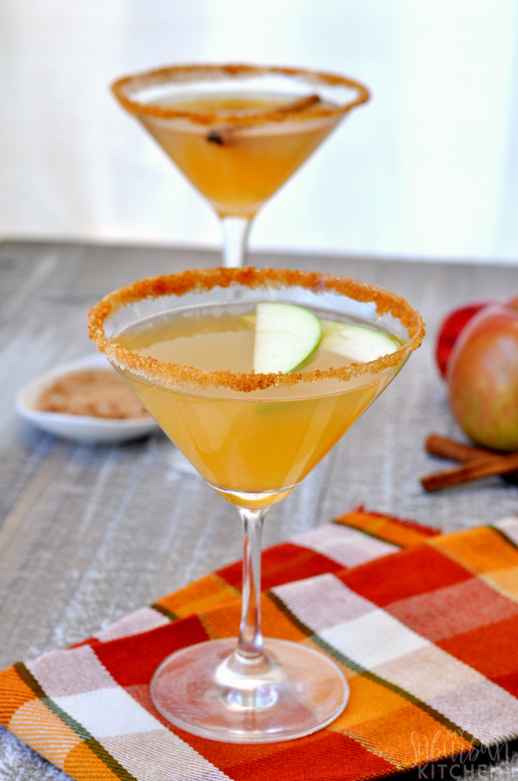 Cinnamon Apple Martini Recipe