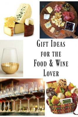 Great Gift Ideas for Food and Wine Lovers