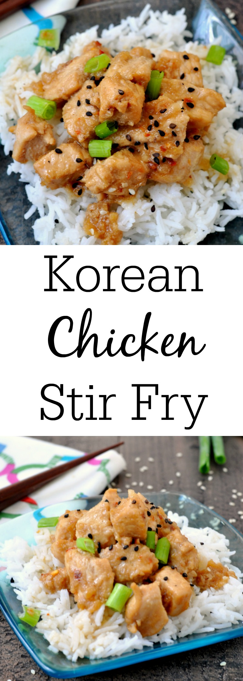 Korean Chicken Stir Fry