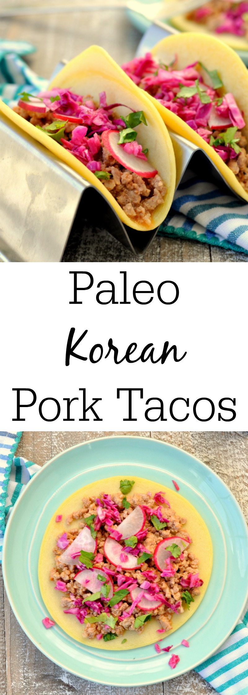 Paleo Korean Pork Tacos