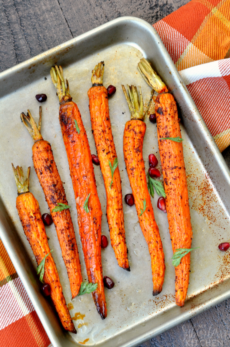 Sumac Roasted Carrots